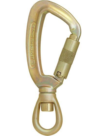 ISC Steel Twister Triple Lock Karabiner