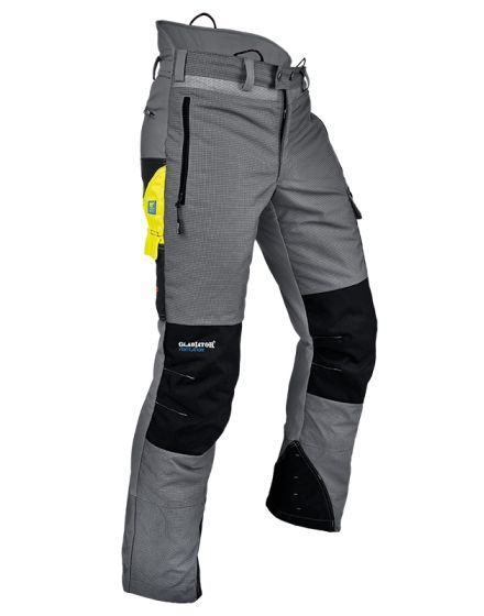 Pfanner Ventilation Grey Chainsaw Trousers - Type A - Class 1