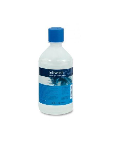 Reliwash Medical Eye Wash Saline Bottle