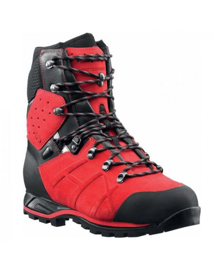 Haix Protector Red Ultra Chainsaw Boot