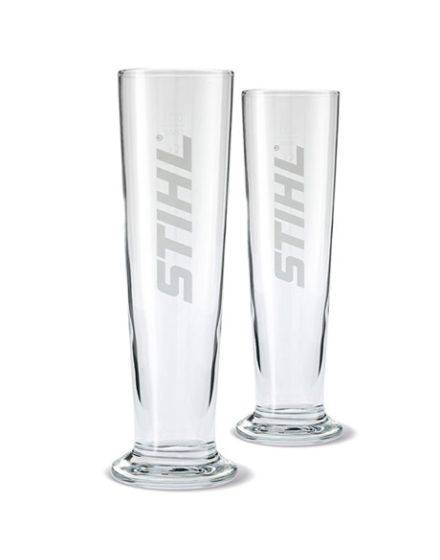 STIHL Beer Glasses x2