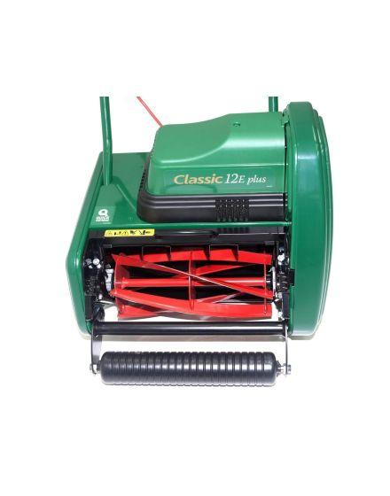 allett classic 12 plus push electric lawn mower