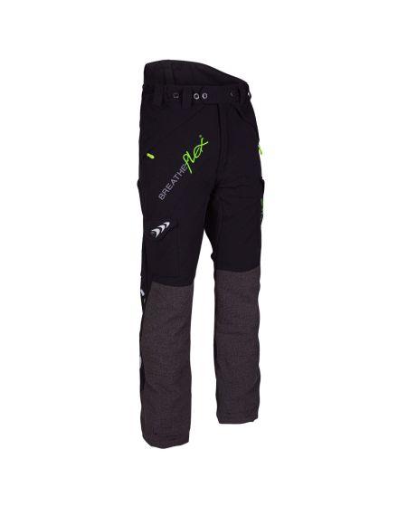 Arbortec Breatheflex Black Chainsaw Trousers - Type A - Class 1