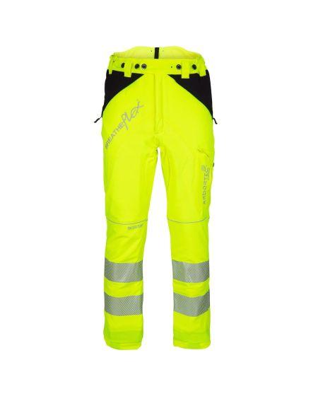 Arbortec Breatheflex Hi-Vis Yellow Chainsaw Trousers - Type A - Class 1