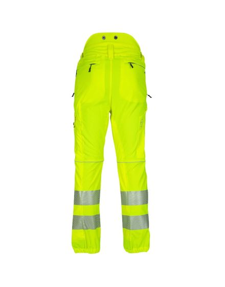 Arbortec Breatheflex Hi-Vis Yellow Chainsaw Trousers - Type C - Class 1