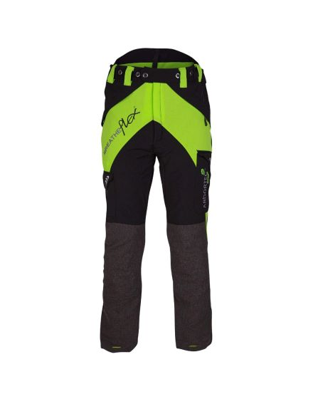 Arbortec Breatheflex Lime Chainsaw Trousers - Type C - Class 1