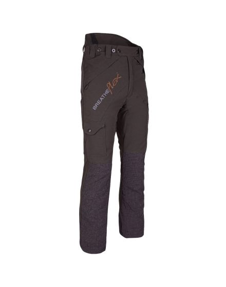 Arbortec Breatheflex Olive Chainsaw Trousers - Type C - Class 1