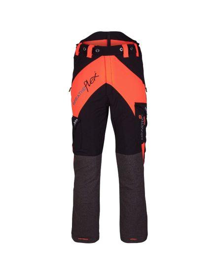 Arbortec Breatheflex Orange Chainsaw Trousers - Type C - Class 1