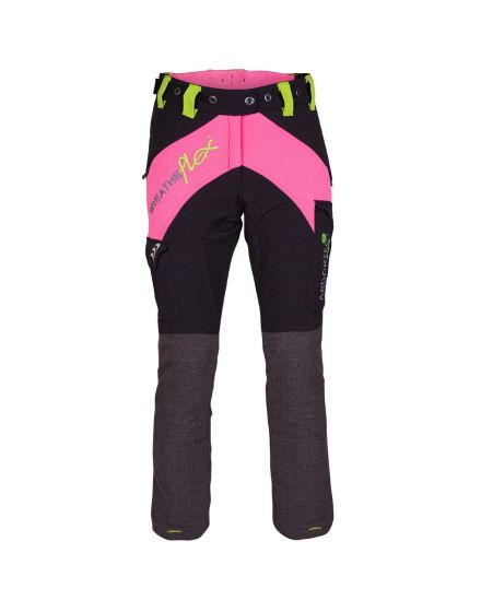 Arbortec Breatheflex Pink Female Chainsaw Trousers - Type C - Class 1
