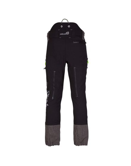 Arbortec Breatheflex Pro Black Chainsaw Trousers - Type C - Class 1