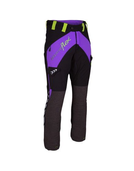 Arbortec Breatheflex Purple Female Chainsaw Trousers - Type A - Class 1