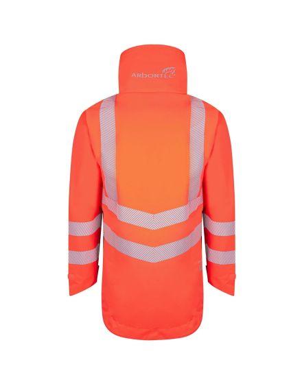 Arbortec Breathedry Hi-Vis Orange Waterproof Smock