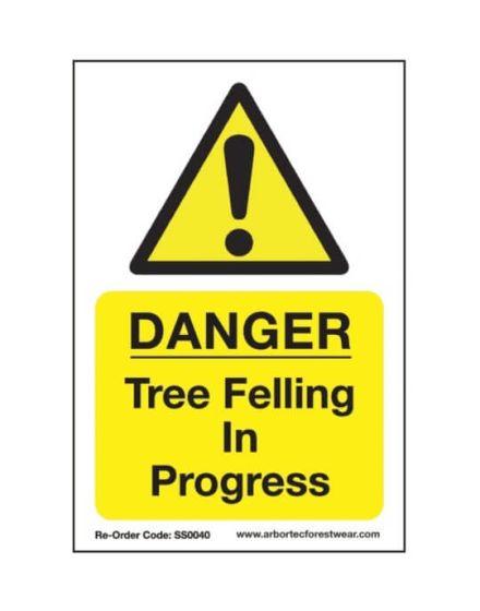 COREX SIGN TREE FELLIN