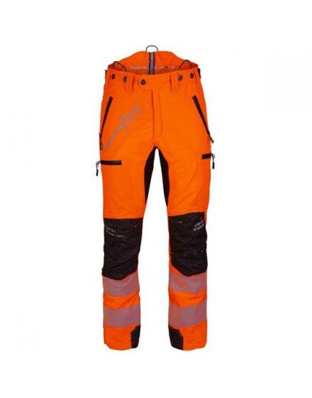 Arbortec Breatheflex Pro Hi-Vis Orange Chainsaw Trousers - Type C - Class 1
