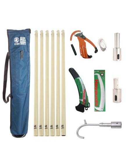 AUS Deluxe Fibre Glass Pole Kit - 6 Total Poles