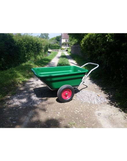 Henchman 200 Litre Wheelbarrow/Trailer