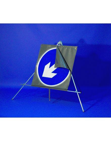 Quazar Classic Roll Up Blue Arrow Reversible