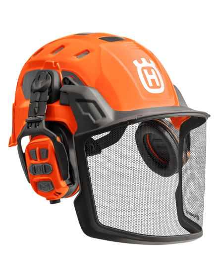 Husqvarna Technical Helmet With X-COM