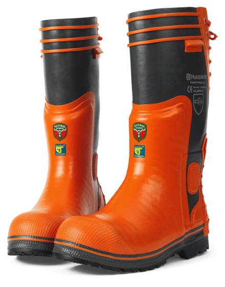 Husqvarna Functional 28 Rubber Chainsaw Boots