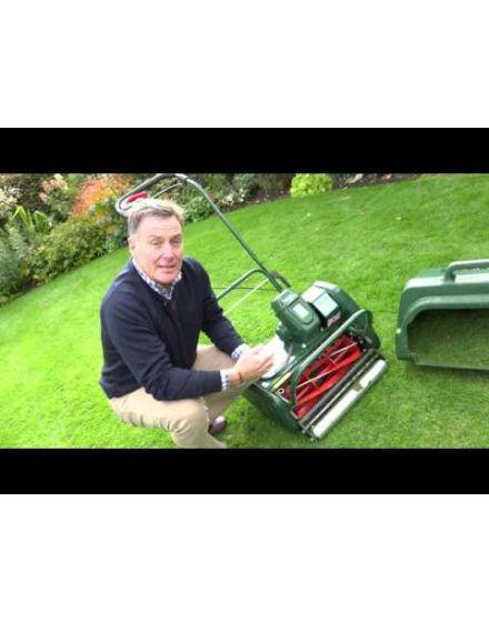 Allett Liberty 43 Self Propelled Battery Lawn Mower (Kit)