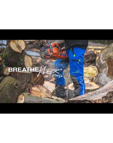 Arbortec Breatheflex Blue Pro Chainsaw Trousers - Type A - Class 1