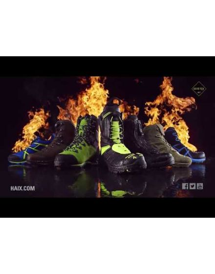 Haix Protector Lime Ultra Chainsaw Boots