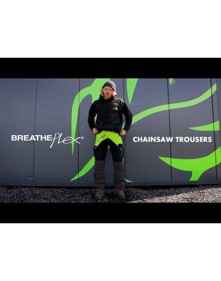Arbortec Breatheflex Lime Chainsaw Trousers - Type C - Class 1