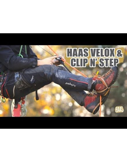 Nylon HAAS® Velox Clip'N Step Boots Ascent System