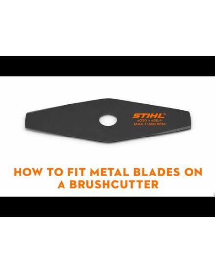 STIHL 260mm (2 B) Metal Grass Cutting Blade