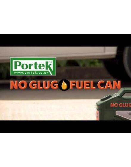 Portek No Glug Fuel Can