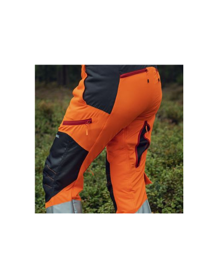 Husqvarna Hi Viz 20A Protective Trousers
