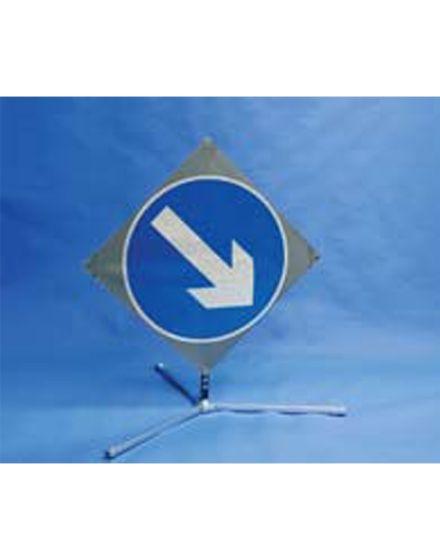 Quazar TriFlex Arrow Road Sign – Keep Left/Right – 750mm