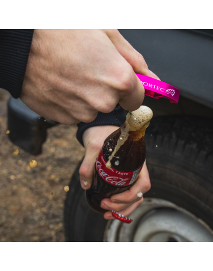 Arbortec Pink Bottle Opener Keyring