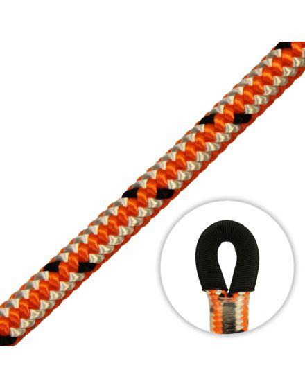 Marlow Gecko FCR Orange 13mm Climbing Rope (Sewn Eye)