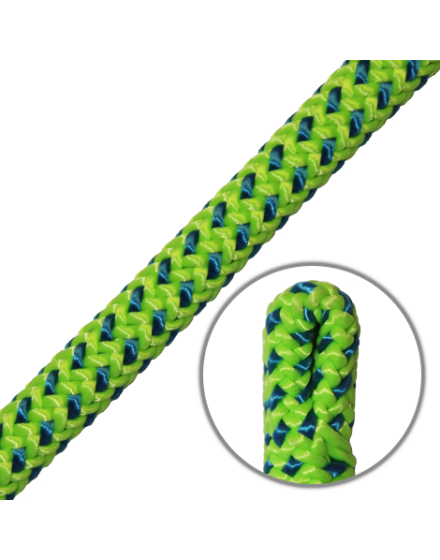 Tachyon Tachyon Green 11.5mm Climbing Rope (Slaiced Eye)
