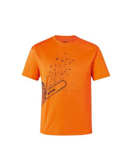 STIHL DYNAMIC Mag Cool Orange T-Shirt