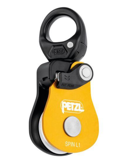 petzl spin l1 7-13mm swivel pulley