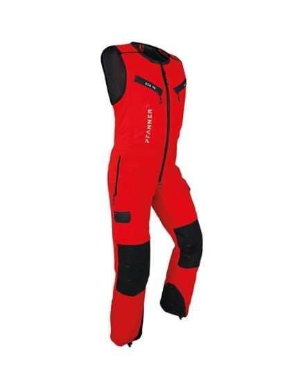 Pfanner Red Chainsaw Jumpsuit - Type A - Class 1