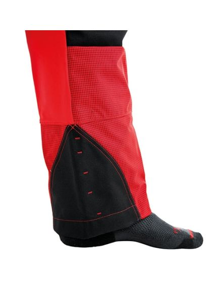 Pfanner Stretch Air Ventilation Red Chainsaw Trousers - Type A - Class 1
