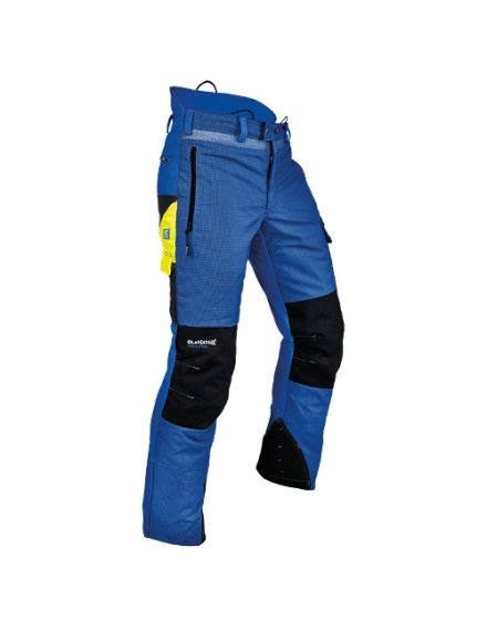 Pfanner Ventilation Blue Chainsaw Trousers - Type A - Class 1