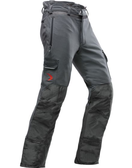 Pfanner Arborist Grey Chainsaw Trousers - Type C - Class 1