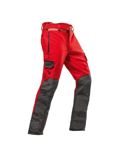 Pfanner Arborist Red Chainsaw Trousers - Type C - Class 1