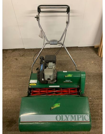 Masport Olympic 660 Twindrive Cylinder Lawn Mower