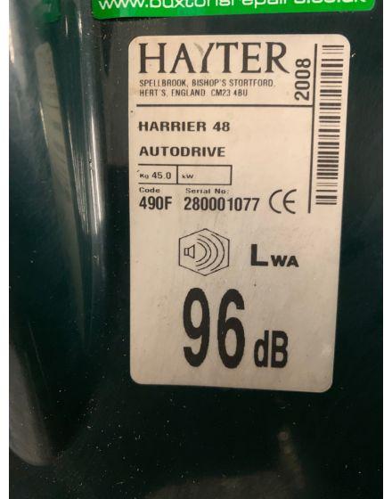 Hayter Harrier 48 Walk Behind Lawn Mower
