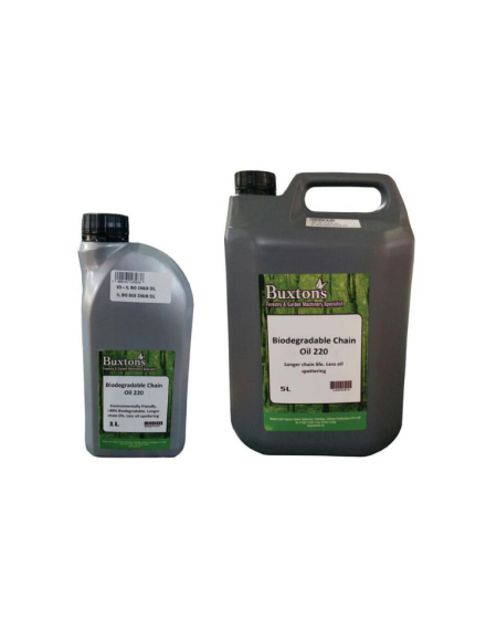 Buxtons Bio-Degradable Chain Oil
