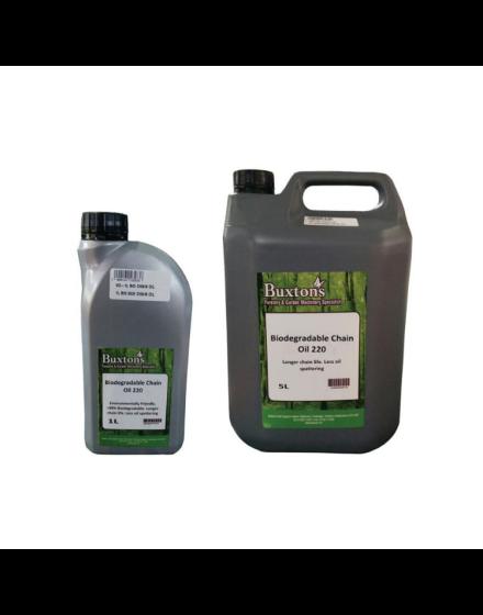 Buxtons Bio-Degradable Chain Oil