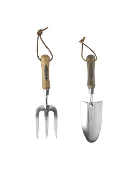 Spear & Jackson Hand Trowel & Fork Set