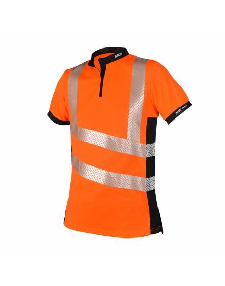 Stein X25 VENTOUT Hi-Vis Orange Short Sleeve Shirt