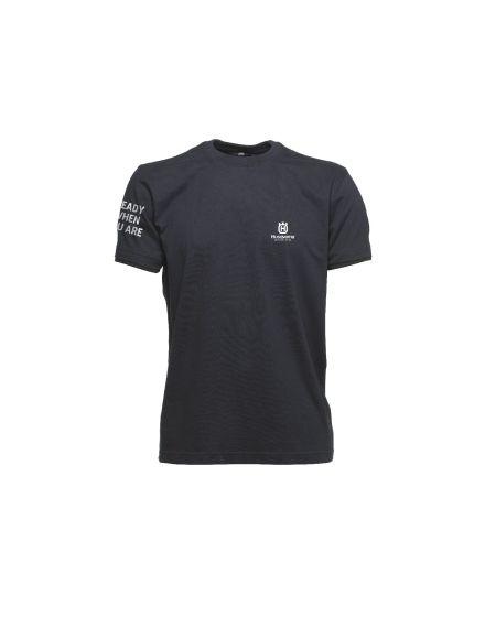Husqvarna Navy Blue Logo T-Shirt
