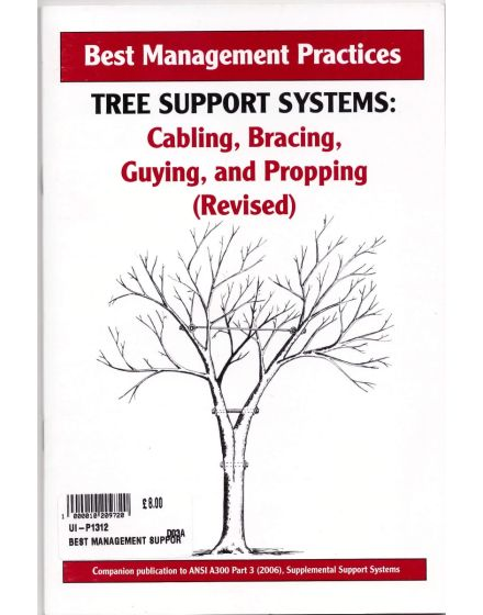 Tree Support Systems Best Management Practices Book